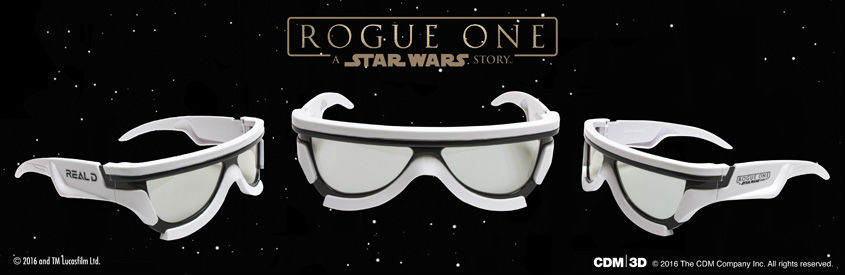 ROGUE ONE - STAR WARS STORY- limitierte 3D-Brillen Storm Trooper