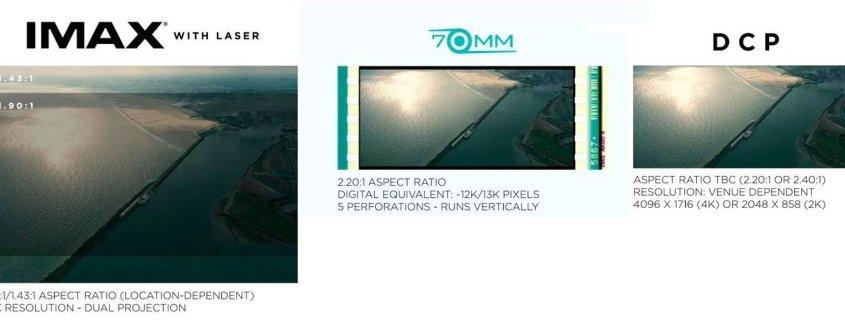 DUNKIRK Vergleich IMAX 70mm DCP