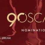 90 Oscars -Nominierungen Livestream