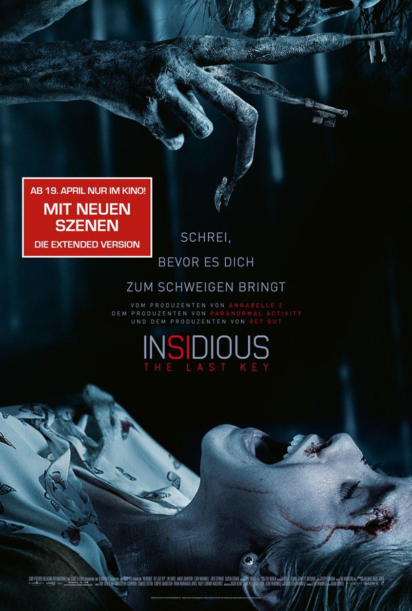 Insidious The Last Key- Extended Version- Plakat