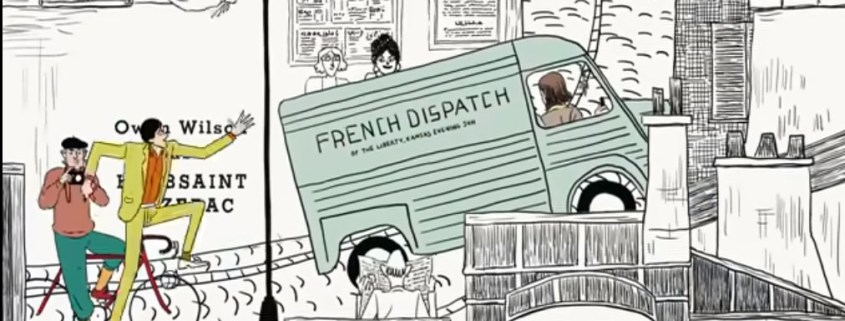 French Dispatch - Wimmelbild