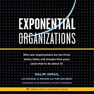 Exponential Organizations Audiobook Cover
