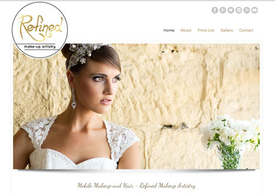 Web and graphic design - makeup artist - Morpeth, Hunter Valley