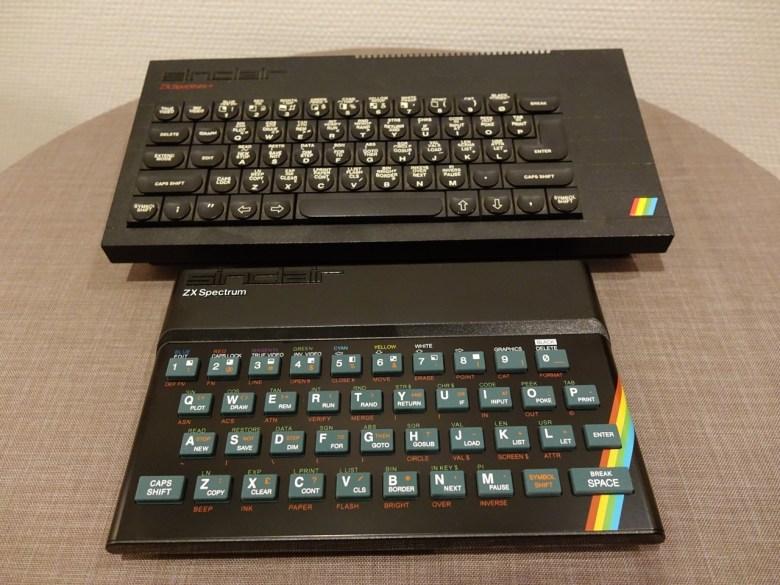 Der ZX Spectrum Recreated im Vergleich zum Sinclair ZX Spectrum+