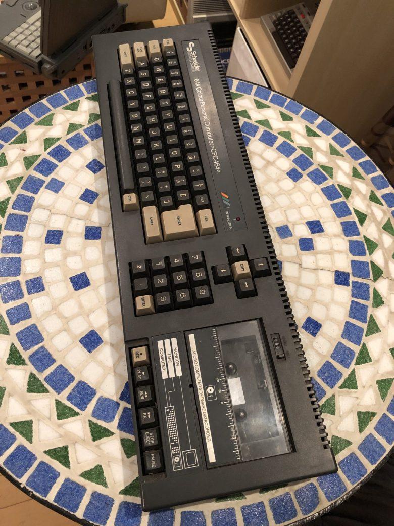 Mein Schneider CPC 464. Teil meines Computermuseums. Ein Geschenk von einem Freund