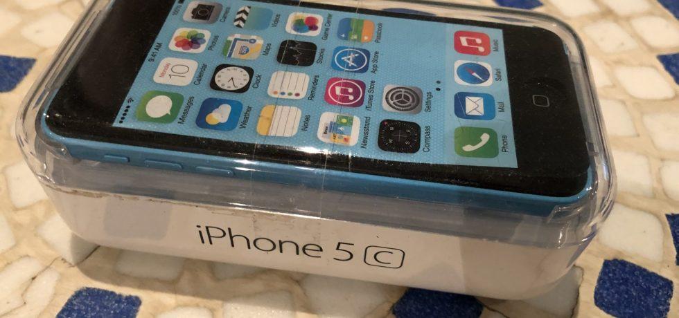 Computermuseum: Apple iPhone 5C