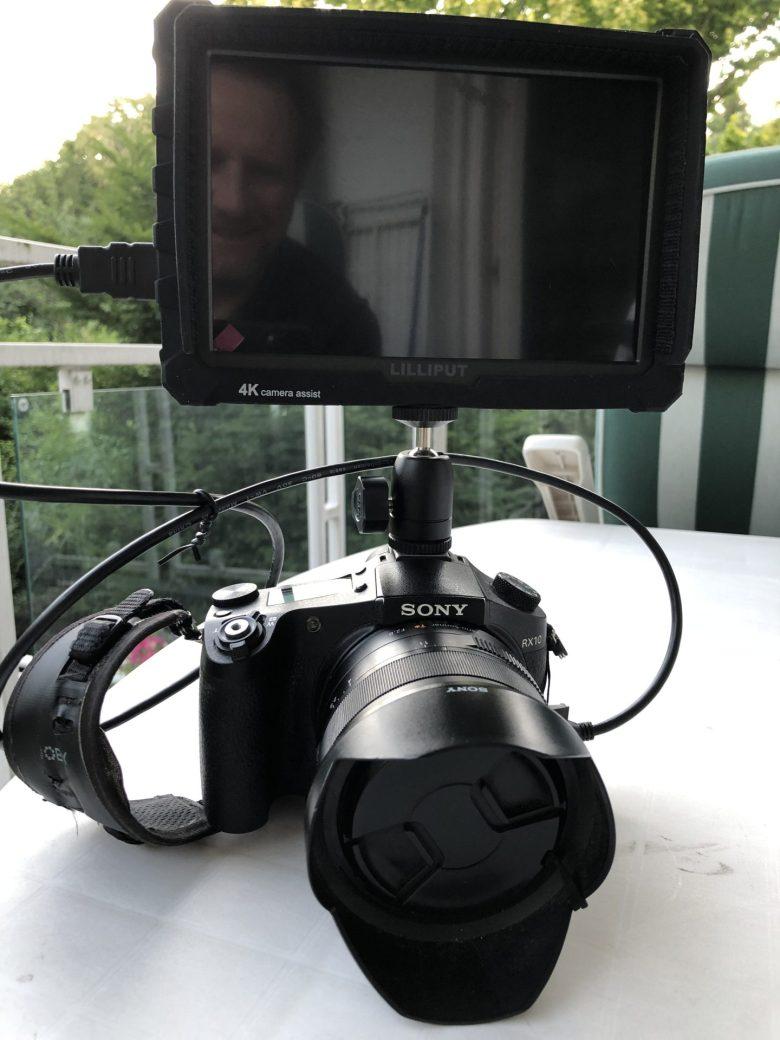 Meine RX10 im Vlogger-Style