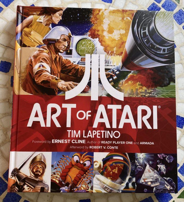 Art of Atari. Ein Bildband über die Künstler in der Gestaltung von frühen Videospielen. Von Tim Lapetino.