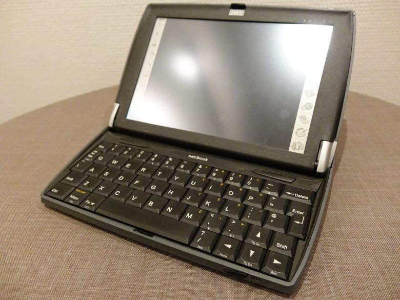 Gute Tastatur bei einem Psion Netbook. Wie ist das möglich? Entwicklung der Computertastaturen
