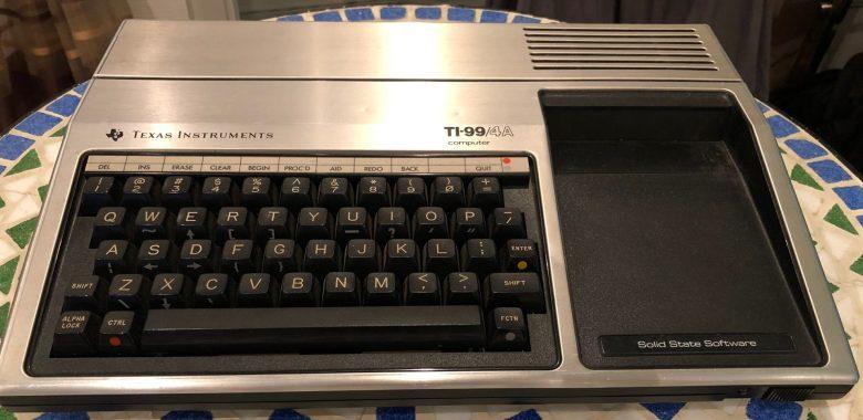 Zu kleine Tastatur beim TI 99/4A. Entwicklung der Computertastaturen