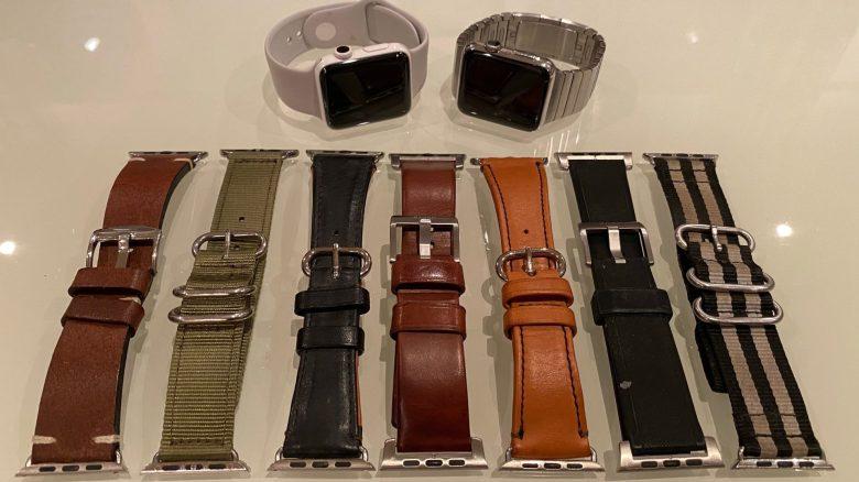 Meine 7 anderen Armbänder - alle nicht von Apple. Armbanddesigns für die Apple Watch