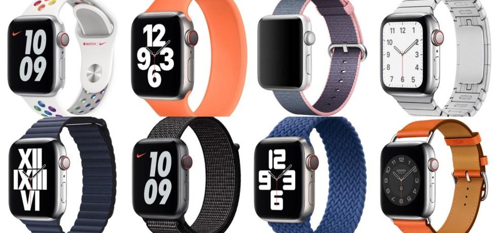 Apple Watch mit unterschiedlichen Apple Watch Bands
