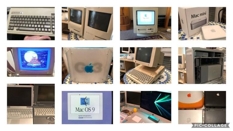 Eine Kollage von Apple Produkten - Apple Probleme und Lösungen