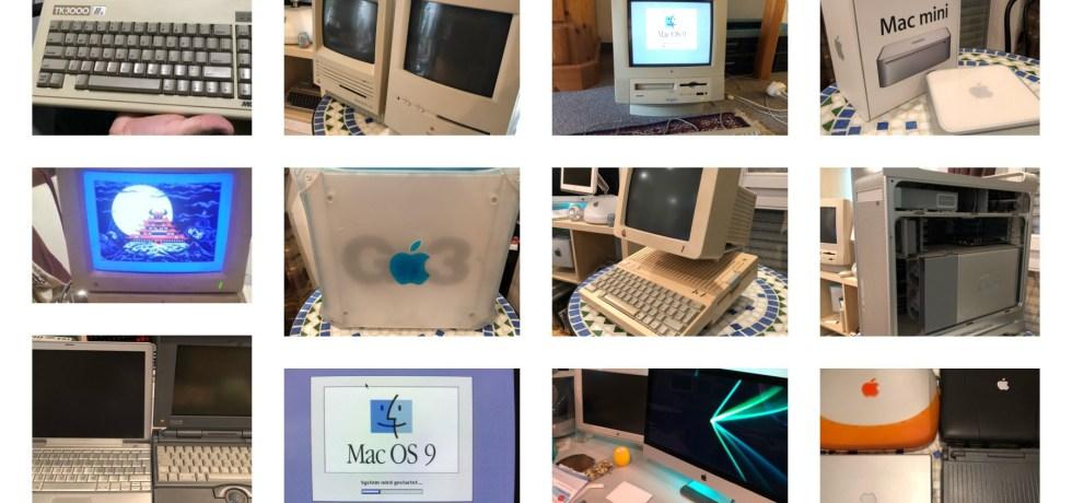 Eine Auswahl von Apple-Produkten