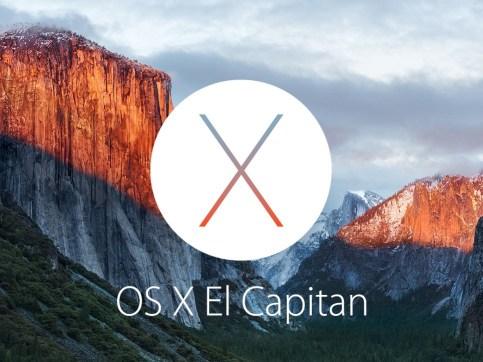 Sinnbild für OS X 10.11 El Capitan