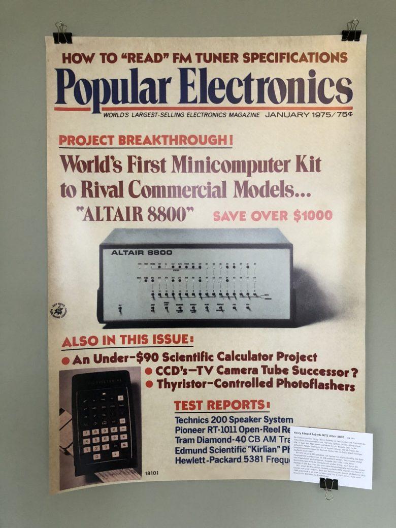 Foto des Magazins Popular Electronics - Retrocomputing für Sammler, Techniker und Spieler