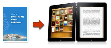 """""""Sechstausend Meilen Mittelmeer"""" jetzt auch auf iPad, iPhone und iPod Touch!"""