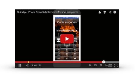 Quick Tip – sicheres iPhone Passwort mit bequemer Eingabe