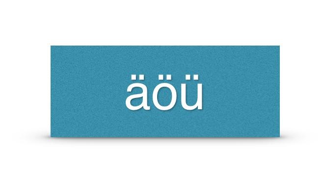 Umlaute auf der Tastatur direkt anzeigen – oder auch nicht (iOS 7)