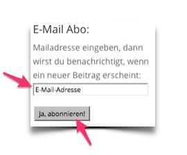 Mail Abonnement