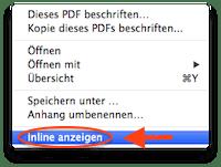 Evernote PDF Inline anzeigen