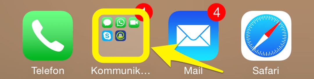Mehr Apps ins Dock!