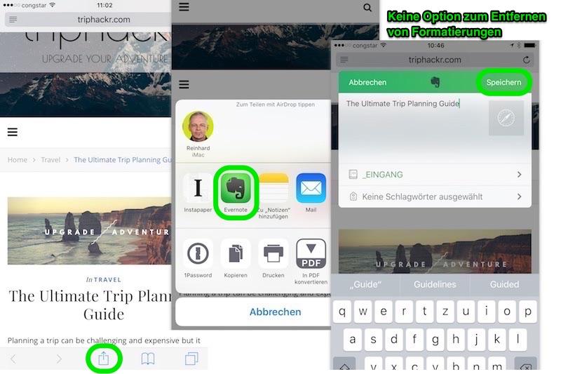 iOS Share Sheet