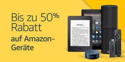 Prime Day Rabatt auf Amazon Geräte