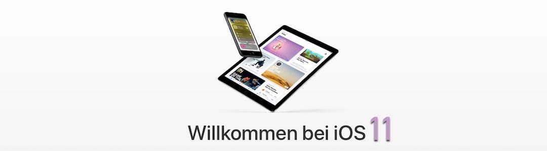 iOS 11: So bereitet ihr euch auf das Update vor