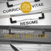 """Hva kommuniserer egentlig et """"hull i CVen""""?"""