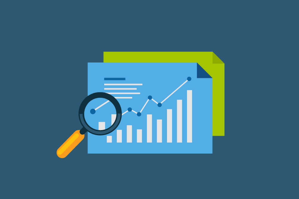 Vector Icon for Google Analytics Reporting