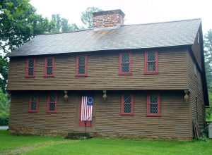 The home of Justice of the Peace Solomon Whitman is now a museum.