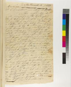 Elijah Wampey Letter From West Stockbridge