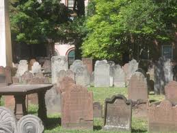 Hartford Ancient Burying Ground headstones