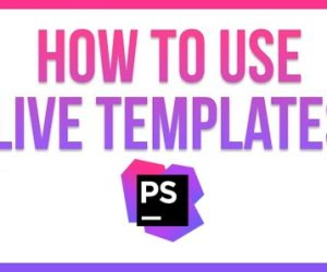 Autocomplete using Live Templates