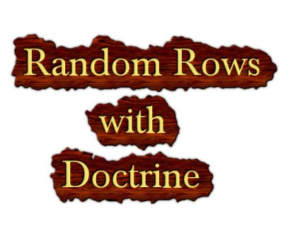 Get Random rows in Doctrine - Digital Fortress