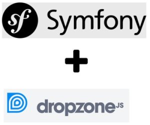 JS File Upload with Dropzone and Symfony