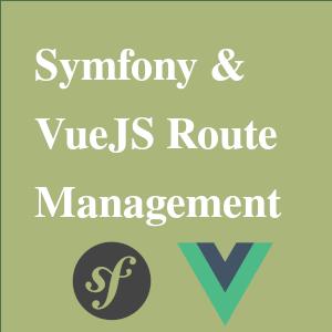symfony vuejs routing