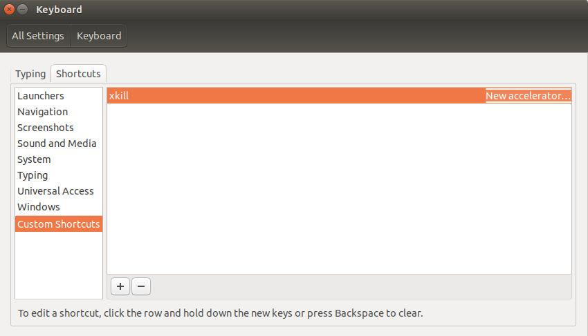 create keyboard shortcut step4