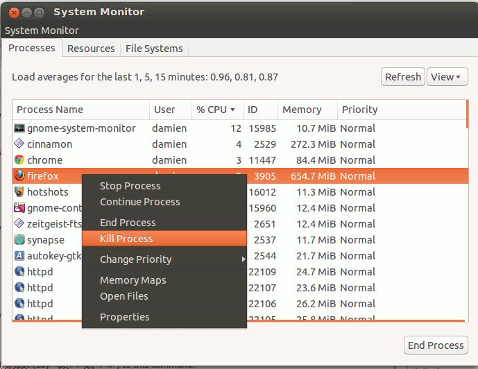 ubuntu system monitor