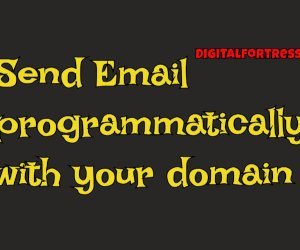 Send email programmatically for free from your domain