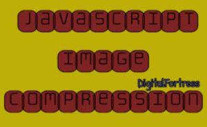 Javascript image compression