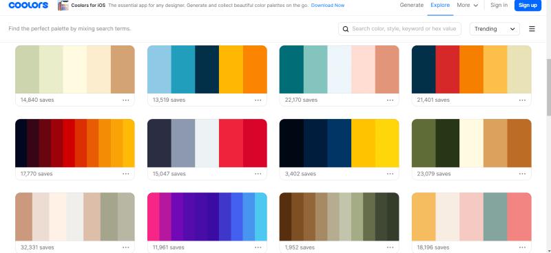 coolors trending palettes-min