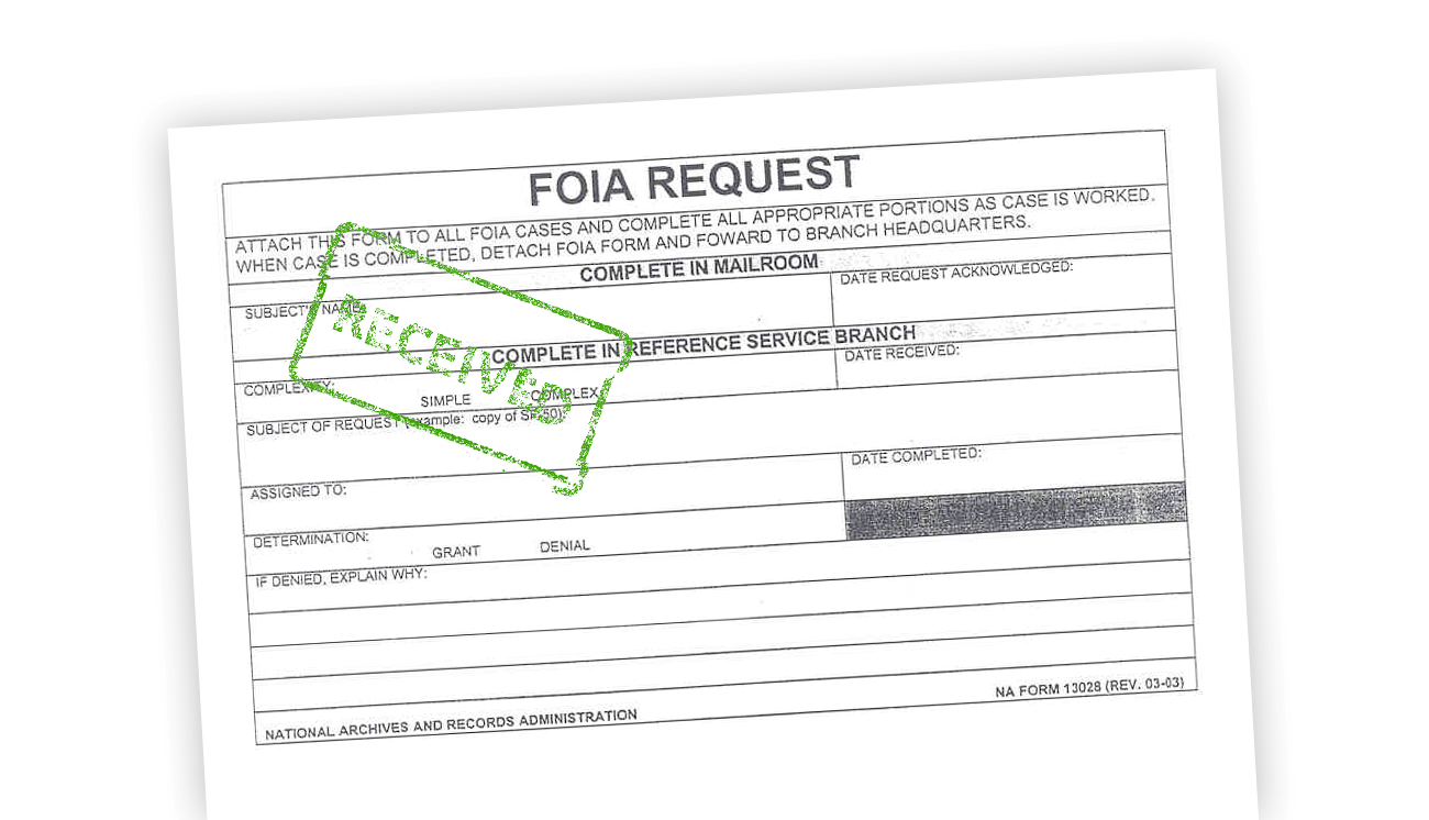 FOIA Request Portal Exposed Social Security Numbers, PII