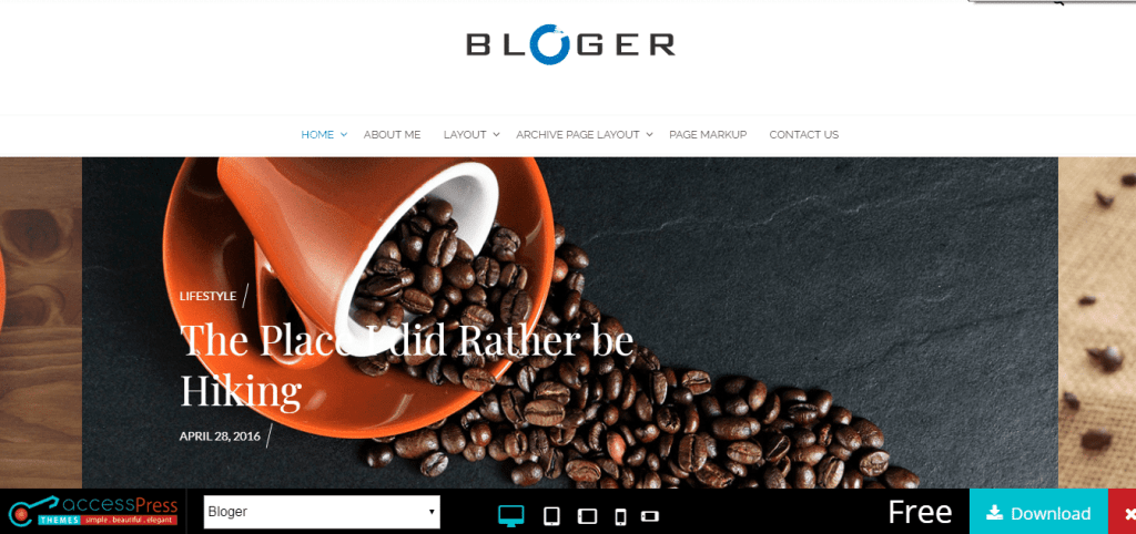 wordpress theme free download