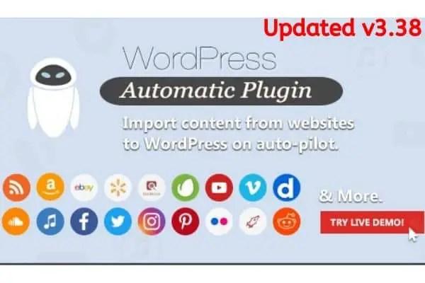 Download WordPress Automatic Plugin v3.38.0