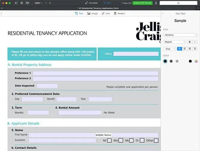 edit pdf mac - Readdle PDF Expert for macOS