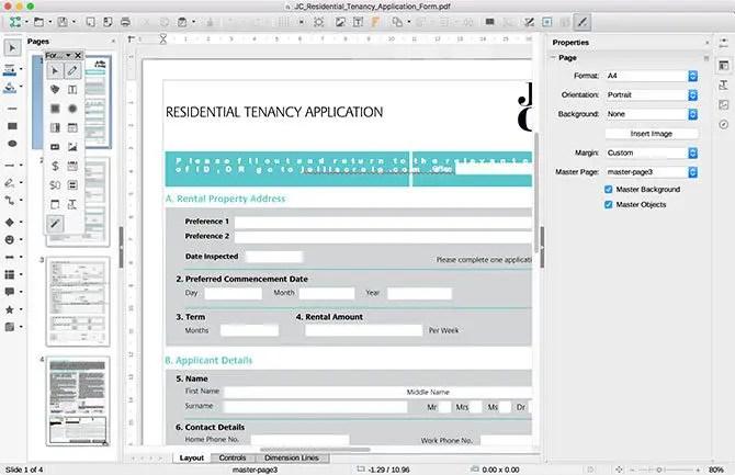 edit pdf mac - LibreOffice Draw on Mac