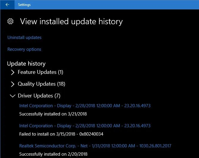 How to View All Recently Updated Drivers in Windows