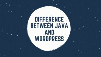 Difference Between Java and WordPress